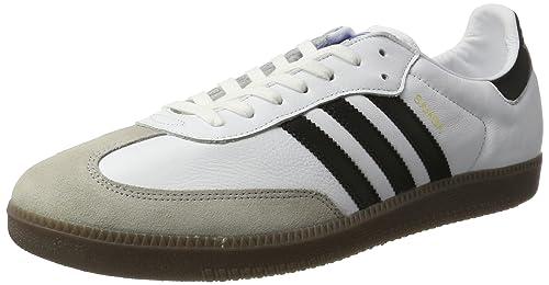 ADIDAS SAMBA SUPER Herren Sneakers Glattleder schwarz oder