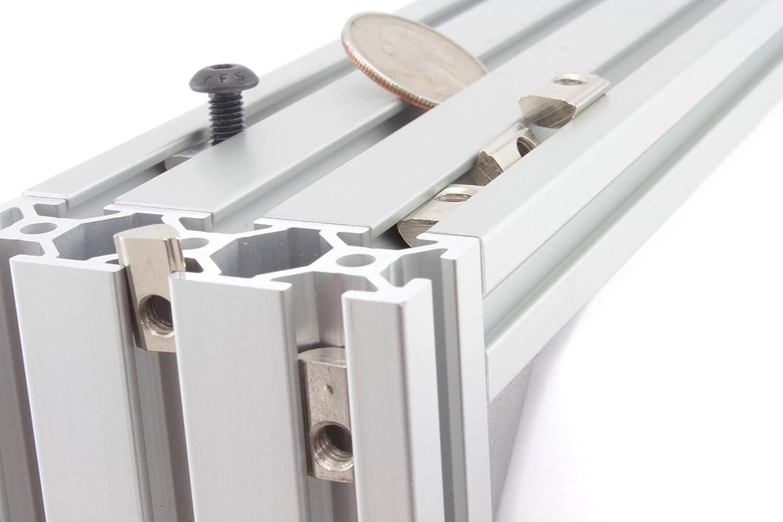 Roll-in Spring M5 T Tuerca para 20 mm T-Slot Aluminio v-slot Extrusiones (Multi paquetes): Amazon.es: Amazon.es