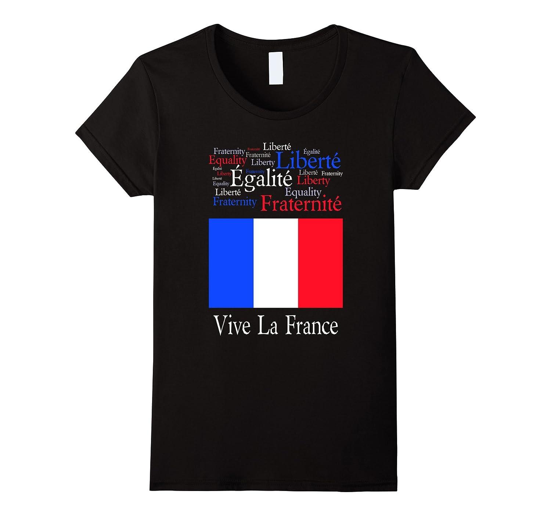 Vive La France Bastille Day T-Shirt
