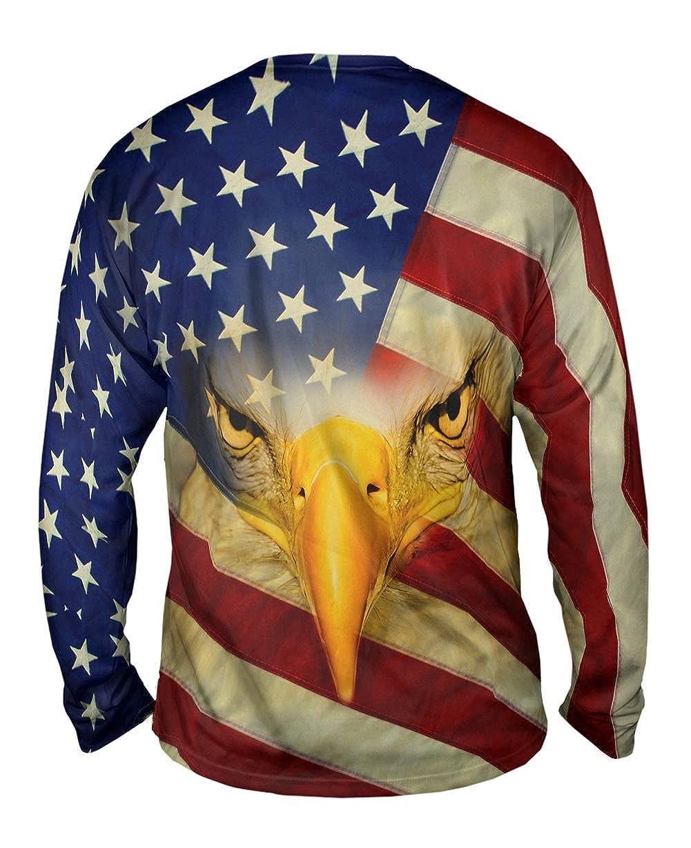 Mens Long Sleeve Yizzam American Eagle TShirt
