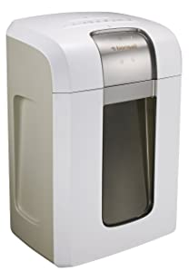 Bonsaii Paper Shredder, Super Micro cut (1/26 by 5/21 inches) with 7.9 Gallons Wasterbasket, 240 Minutes Continuous Shredding, 5 Sheets, White (5S30)