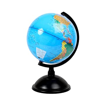product silver slr on earth globe desk mova mg wood base
