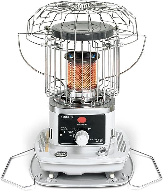 Sengoku Heatmate 10 000 Btu Portable Indoor Outdoor Omni Radiant Kerosene Heater Or 77 Amazon Ca Home Kitchen