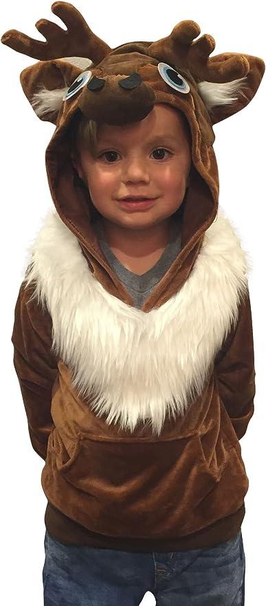 ComfyCamper - Sudadera Infantil para Disfraz de Reno Sven, Disfraz ...