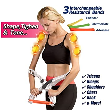 New In Box Powerspin Evo Arm Tricep Shoulder Workout By Powerball Other Fitness Equipment Gear