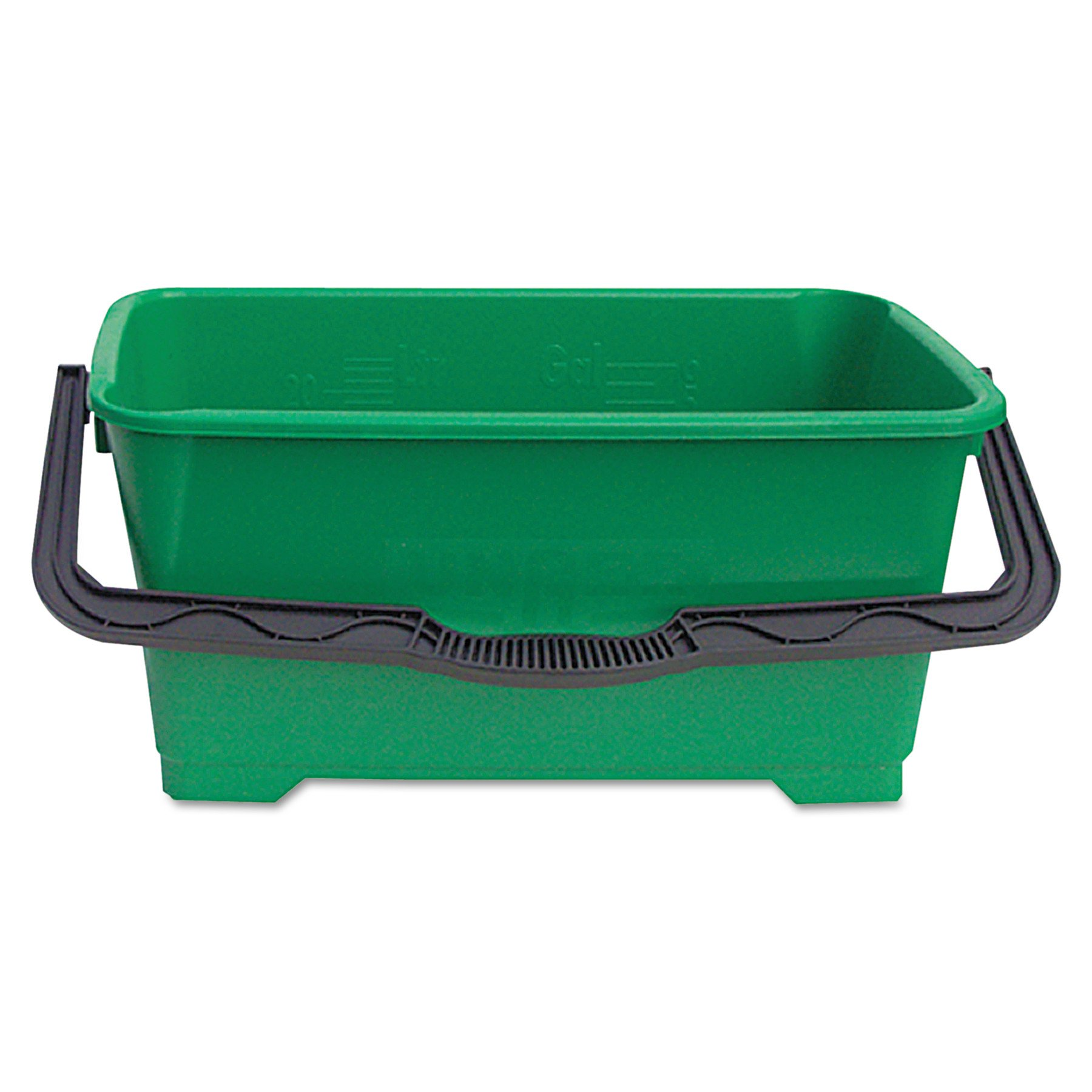 Unger QB220 6 gallon Pro Bucket Fits 18'' Washer, Green with Black Handle