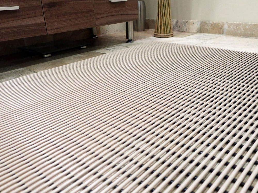 3 x 11 VinTube Vinyl Pool Mat Shower Bathroom Locker Room Sauna SPA Drains Water Comfortable on Bare Foot Mat Runner by MattingExperts
