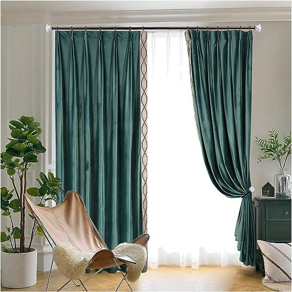 Acrylic Diamond Finials Black KAMANINA Decorative Curtain Drapery Holdbacks 1 Pair//2 Pack