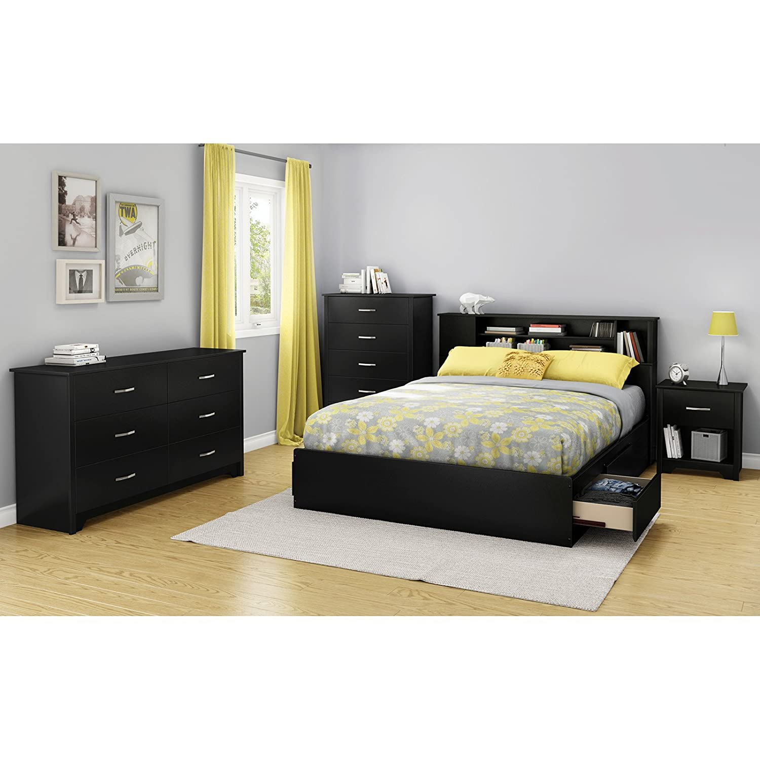 Amazon South Shore Furniture 60 Fusion Mates Bed Queen