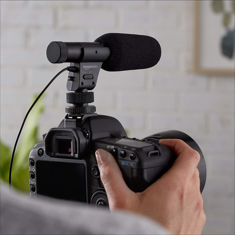 Basics Microphone LJ-OCM-002 pour appareil photo