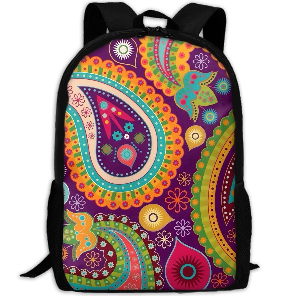 CY-STORE Abstract Pattern Art Print Custom Casual School Bag Backpack Travel Daypack Gifts