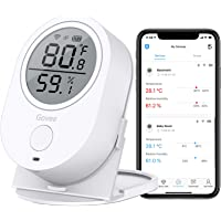 MINGER Govee WiFi Thermometer / Hygrometer Wireless Temperature & Humidity Sensor with Alerts for Android/iOS