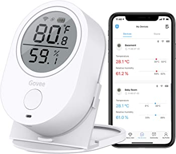 MINGER Govee WiFi Thermometer Wireless Temperature & Humidity Sensor