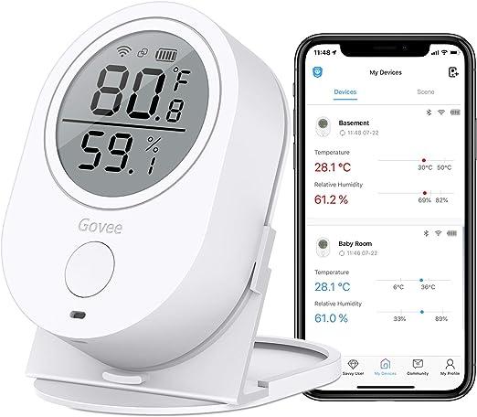 Temperature Thermometer Meter Temp Sensor 1m Probe Tester Car Digital LCD RE565