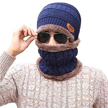 4c3776b40b0842 Upstore 1 Set (2 Stück) Unisex Herren und Damen Dicker Plüsch Strick Winter  Warm