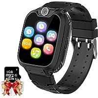 Kids Game Smartwatch MP3-speler Muziek Horloge - [1GB Micro SD inbegrepen] Touchscreen 2 Way Call SOS Wekker Camera…