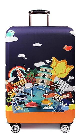 NZ-Luggage cover Maleta Trolley Funda de Maleta Correa Correa, Poliéster Protector de Viaje