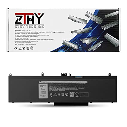 ZTHY 84Wh WJ5R2 Laptop Battery Replacement for Dell Precision 15 3000 3510  M3510 Latitude E5570 Series 4F5YV FN7FY 451-BBTX 11 4V - 12 Months Warranty