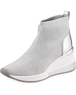 52e9c6bb306e Michael Michael Kors Skyler Wedge Knit Sneaker Booties