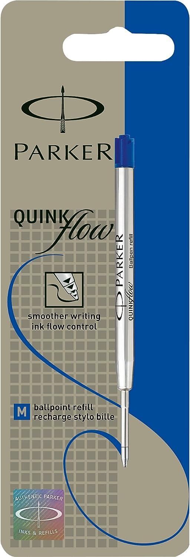 Parker 1950371 Recambio para bol/ígrafo color azul medio