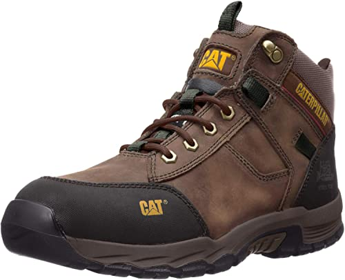 Caterpillar Safeway Mid ST Steel Toe Slip Resistant Cub Boots Shoes P90623