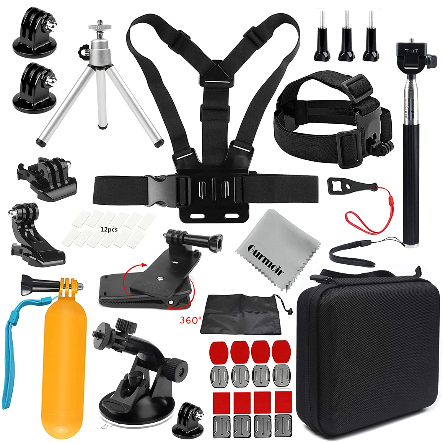 Camera Accessories Kit Sports Action Camera Accessories