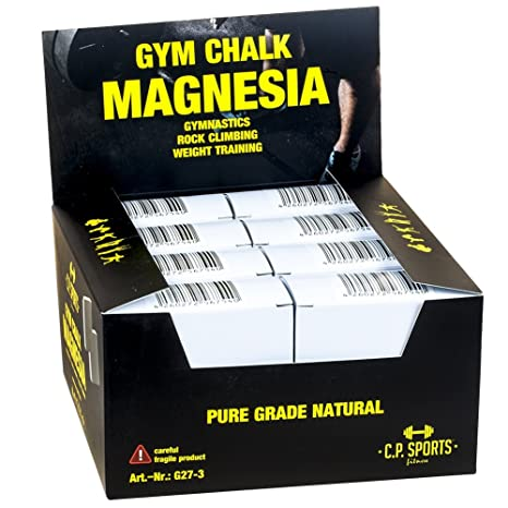 C.P.Sports - Carbonato de magnesio para levantamiento de peso y ejercicios de gimnasia (600