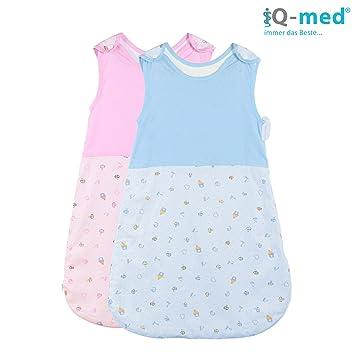 newest collection d5468 920b3 Baby-Schlafsack von iQ-med® | Schlafsack für die warme Jahreszeit | aus  100% kuschelweicher Baumwolle | Schlafsack, Kinder-Schlafsack, Baby-Decke,  ...