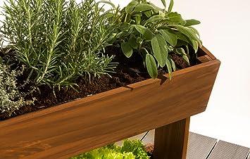 Empasa Vertikales Hochbeet Cube 3 Blumenkasten Pflanzkubel Fruhbeet