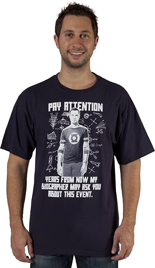 The Big Bang Theory Pay Attention T-Shirt