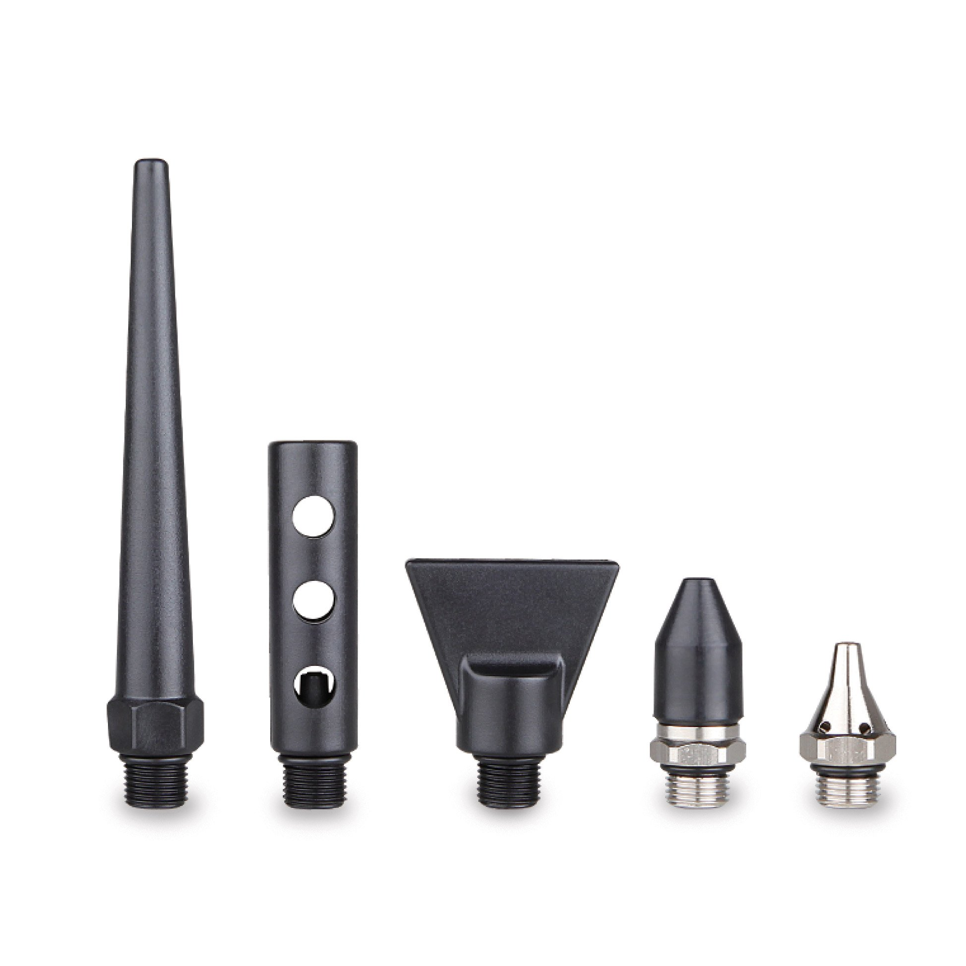 5-Piece Nozzle Set for Capri Tools 2-Way Air Blow Gun