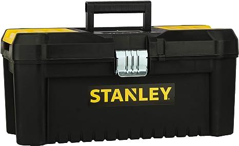 STANLEY STST1-75518 - Caja de herramientas de plastico con cierre metálico, 20 x 19.5 x 41 cm: Amazon.es: Bricolaje y herramientas
