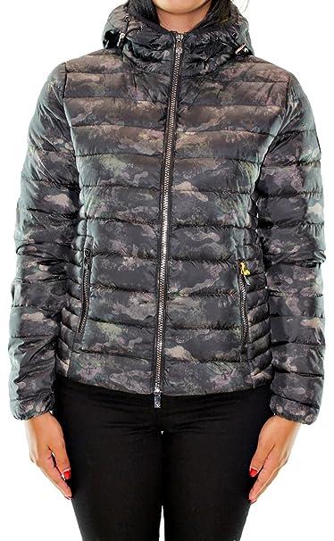 Giacca corta in piuma donna Ciesse Piumini camouflage  Amazon.it   Abbigliamento 2c5f80e2898c