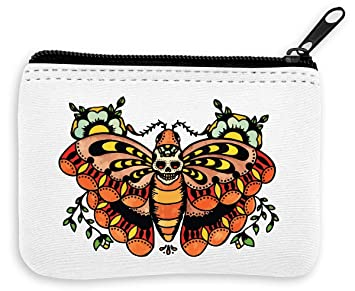 Butterfly Old School Tattoo Collection Skull Vintage Colors ...