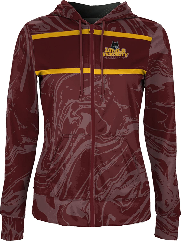 School Spirit Sweatshirt Ripple ProSphere Loyola University Chicago Girls Zipper Hoodie