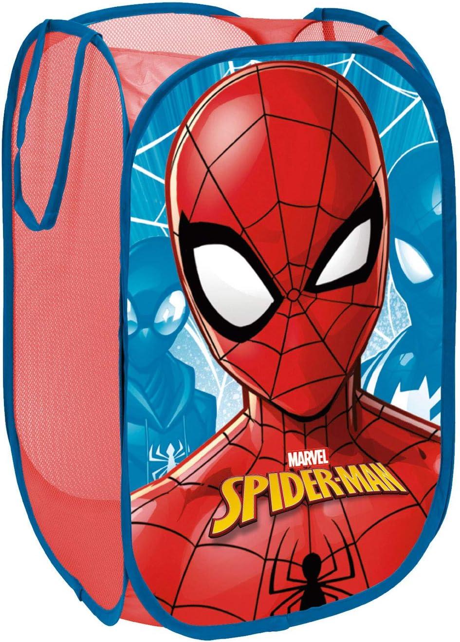 dise/ño Spiderman Arditex SM11589 Cesta pongotodo guarda juguetes