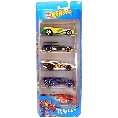 Hot Wheels 2020 Dragon Blast 5-Pack: Home & Kitchen