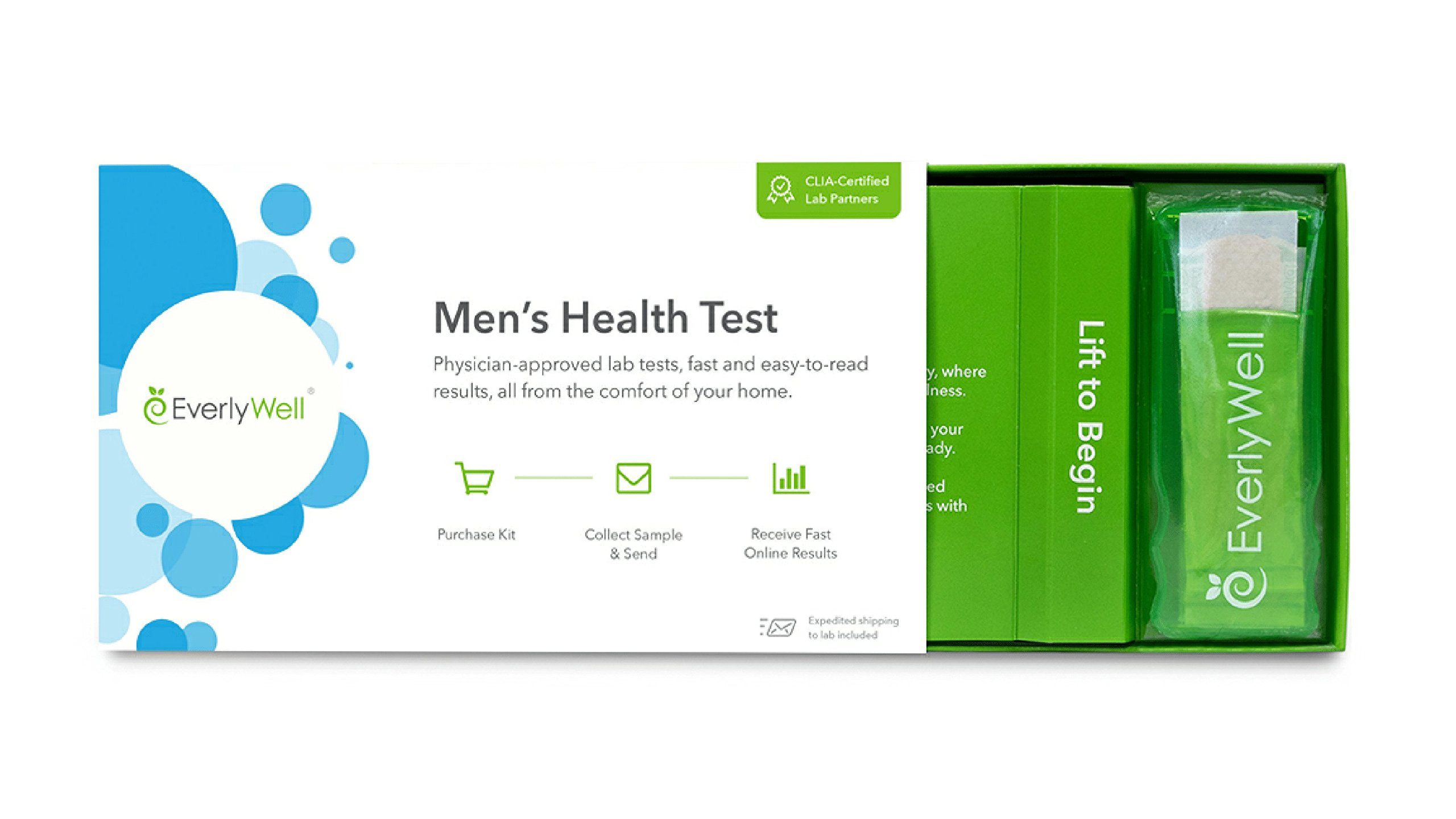 EverlyWell - Men's Health Test - Check Four Vital Hormones (Not available in MD,NY, NJ, RI) by Everly Well (Image #2)