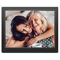 Cadre Photo numérique combiné Wi-FI Nixplay 15 Pouces. Transmettez Vos Photos et vidéos Via Application ou USB, SC. Synchronisation avec Facebook, Dropbox, Instagram, Google Photos. W15A