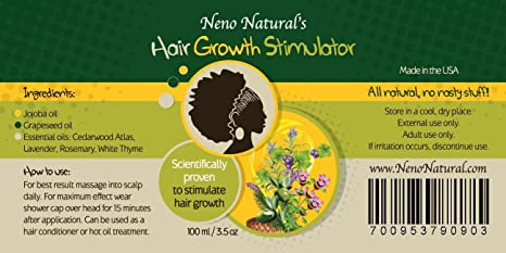 Amazon.com : Hair Oil - Neno Natural's Hair Growth Stimulator ...