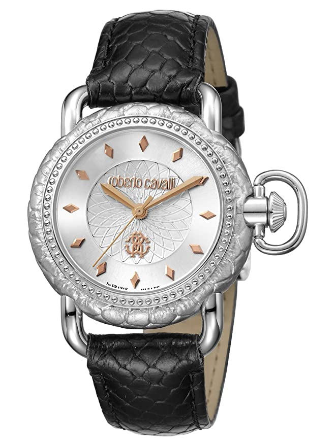 Amazon.com  Roberto Cavalli by Frank Muller Moving Crown Detail Womens 36mm  Watch RV1L017L0016  Watches 4b445893b1c