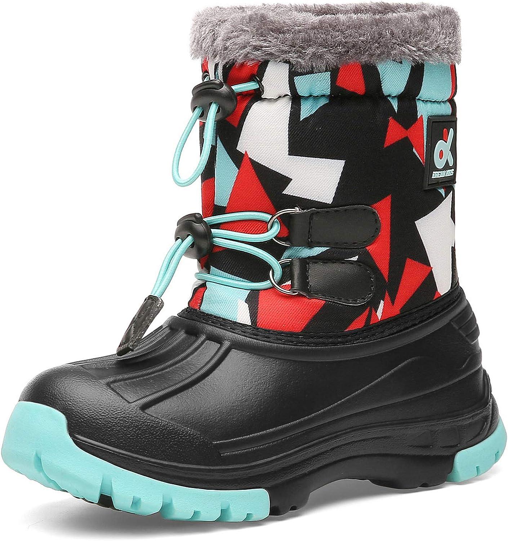 Kids Snow Boots Boys \u0026 Girls Winter