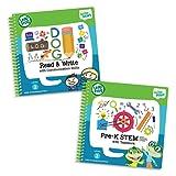 LeapFrog LeapStart Level 2 Pre-Kindergarten Activity Book Bundle with Read and Write, Pre-K STEM