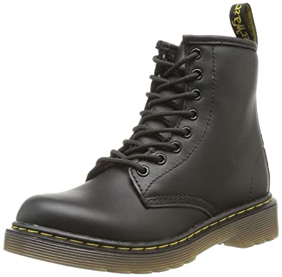 Dr. Martens Junior Delaney Pebble Boots 11 M US Little Kid Black