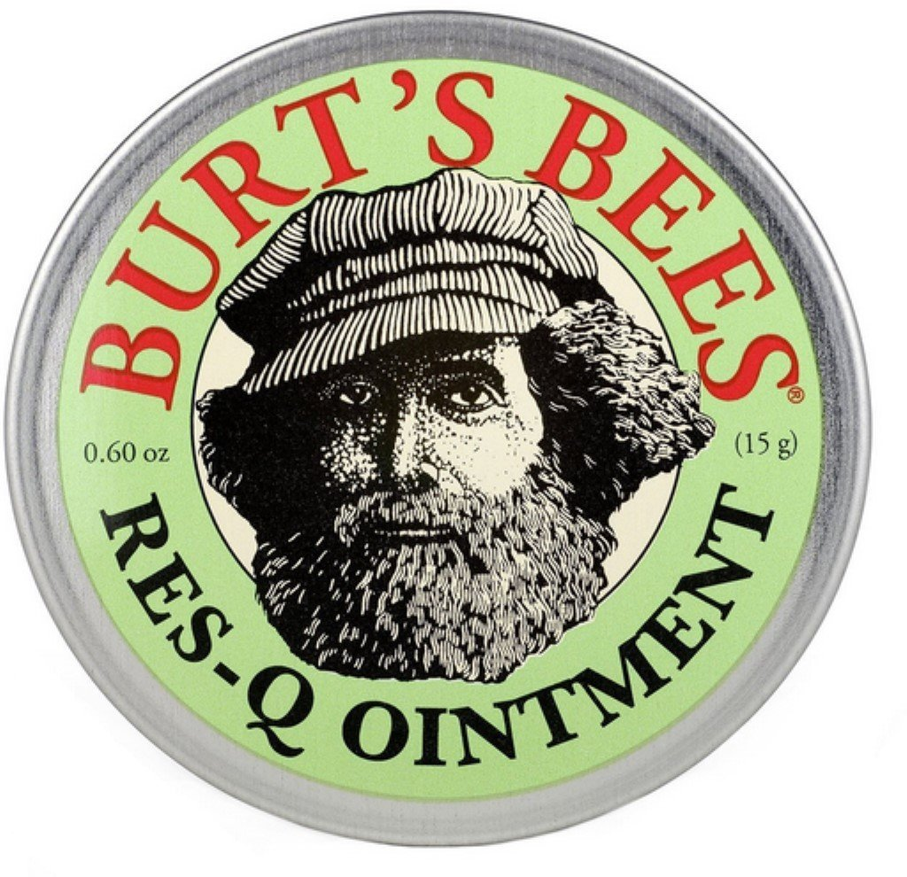 Burt's Bees 100% Natural Res-Q Ointment 0.6 oz (Pack of 12)