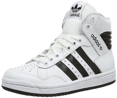 adidasPro Conference HI K-6 - Botines Unisex, para niños, color Blanco, talla 37 1/3 EU: Amazon.es: Zapatos y complementos