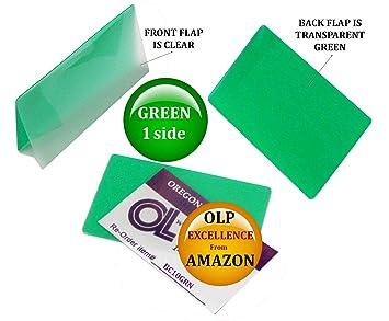 Qte 1000 Vert Clair Carte De Visite Pochettes Plastification 225 X 3