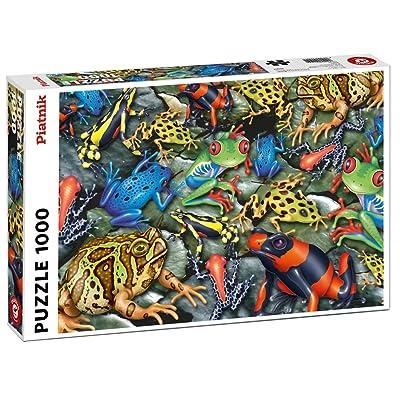 Piatnik 00 5552 Frogs Puzzle: Toys & Games