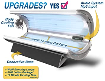 Sunfire 32 Deluxe Tanning Bed