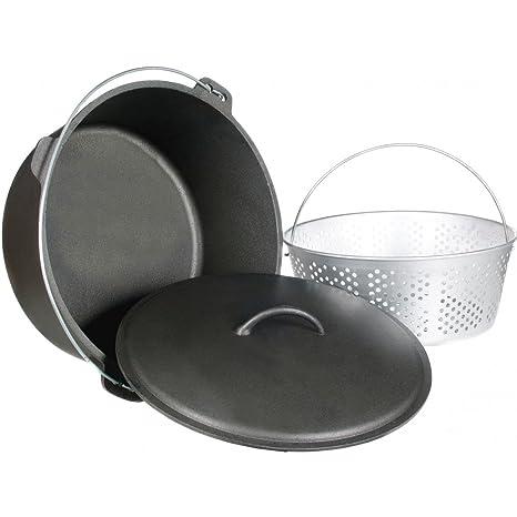 Amazon.com: Cajun Utensilios de cocina 20-quart unseasoned ...